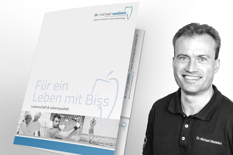 Patientenmappe Implantologie Zahnarzt Dr. Wedekin Hildesheim